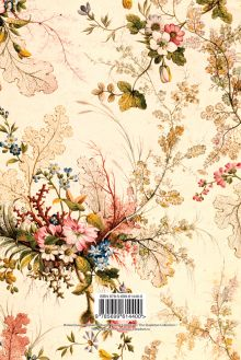 Обложка сзади Блокнот А5. Винтажные цветы