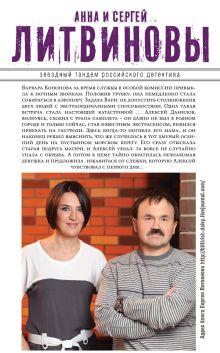 Обложка сзади В свободном падении Анна и Сергей Литвиновы