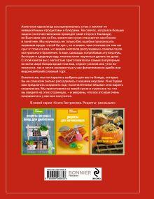 Обложка сзади Книга Гастронома Рецепты азиатской кухни (книга+Кулинарная бумага Saga)