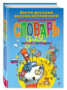 Англо-русский русско-английский иллюстрированный словарь для начинающих обложка книги