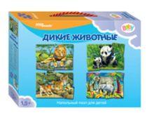 - Пазл Напольный Дикие животные (Средние) обложка книги