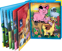 - Домашние животные (синяя) обложка книги