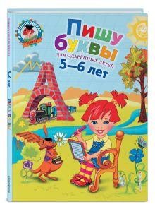 Володина Н.В. - Пишу буквы: для детей 5-6 лет обложка книги