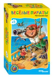- Дорожные игры Веселые пираты обложка книги