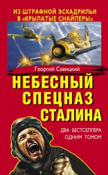 Обложка Небесный спецназ Сталина. Из штрафной эскадрильи в «крылатые снайперы» Георгий Савицкий