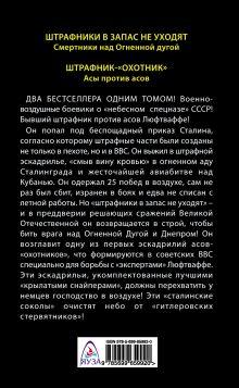 Обложка сзади Небесный спецназ Сталина. Из штрафной эскадрильи в «крылатые снайперы» Георгий Савицкий