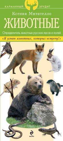 Митителло К.Б. - Животные. Определитель животных русских лесов и полей обложка книги