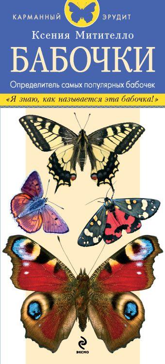 Бабочки. Определитель самых популярных бабочек Митителло К.Б.