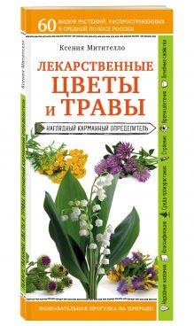 Лекарственные растения и травы. Определитель трав русских лесов и полей обложка книги