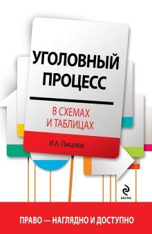 Пикалов И.А. - Уголовный процесс в схемах и таблицах обложка книги