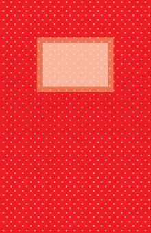 - Блокнот для записей Винтажный горошек А5 обложка книги