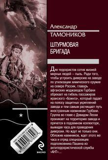 Обложка сзади Штурмовая бригада Александр Тамоников