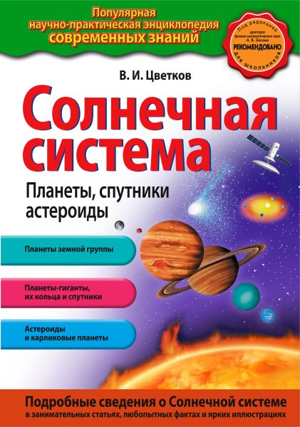 Солнечная система. Планеты, спутники, астероиды