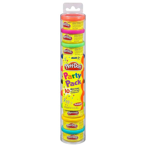 Play-Doh Пластилин: Набор для праздника в тубусе