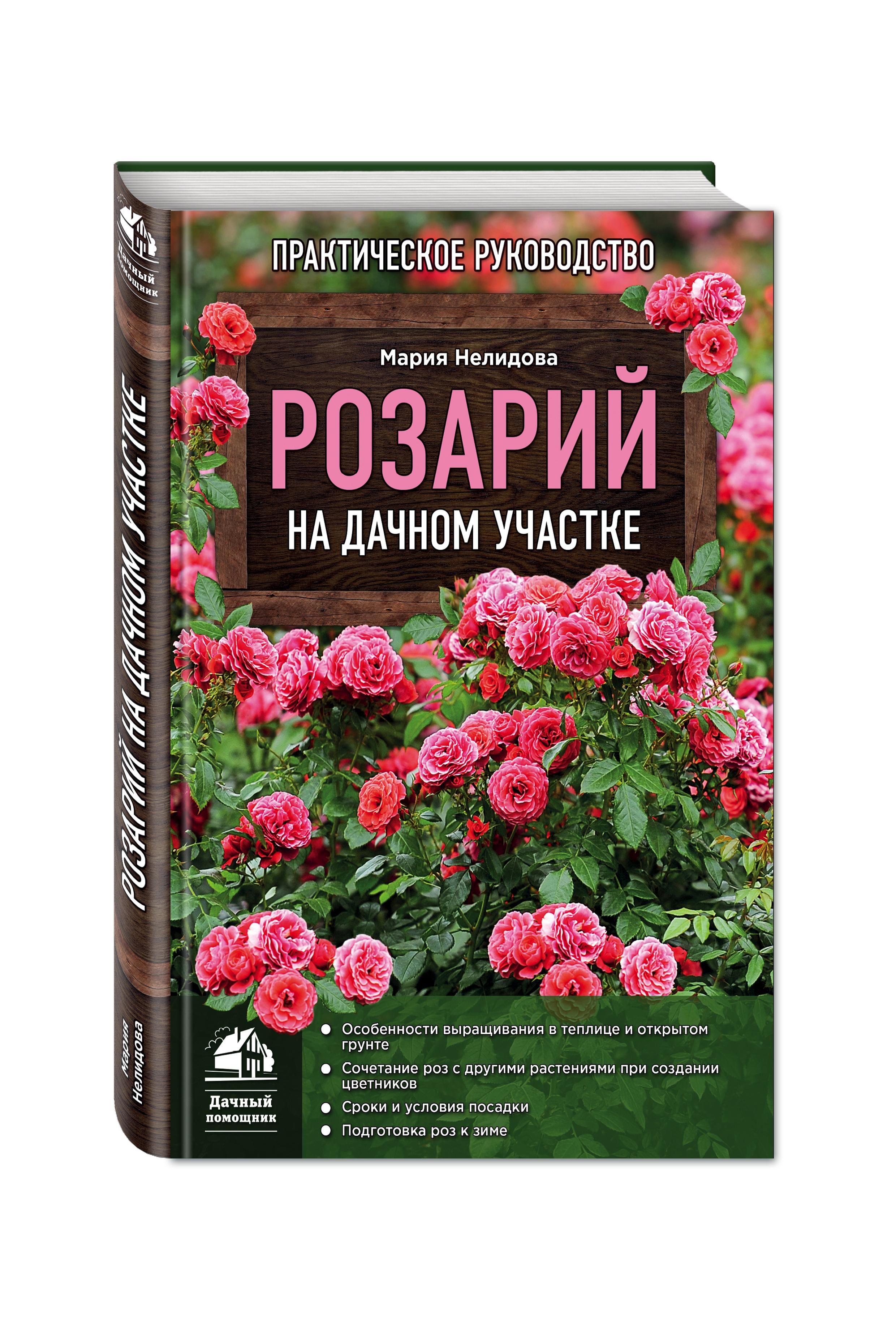 Розарий на дачном участке от book24.ru