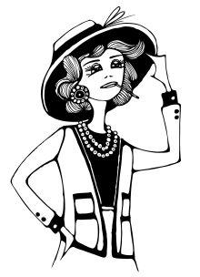 Дрюма Л.А. - Блокнот «Коко Шанель» обложка книги