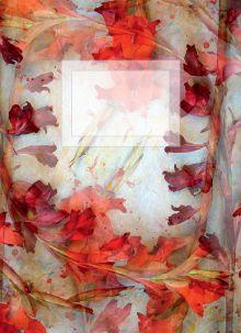- Блокнот для записей Красный восторг А6 обложка книги