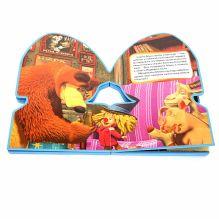 - Маша и Медведь. Новогодние истории (книжка фигурная с песенкой) формат:162х242мм. 10 стр. обложка книги