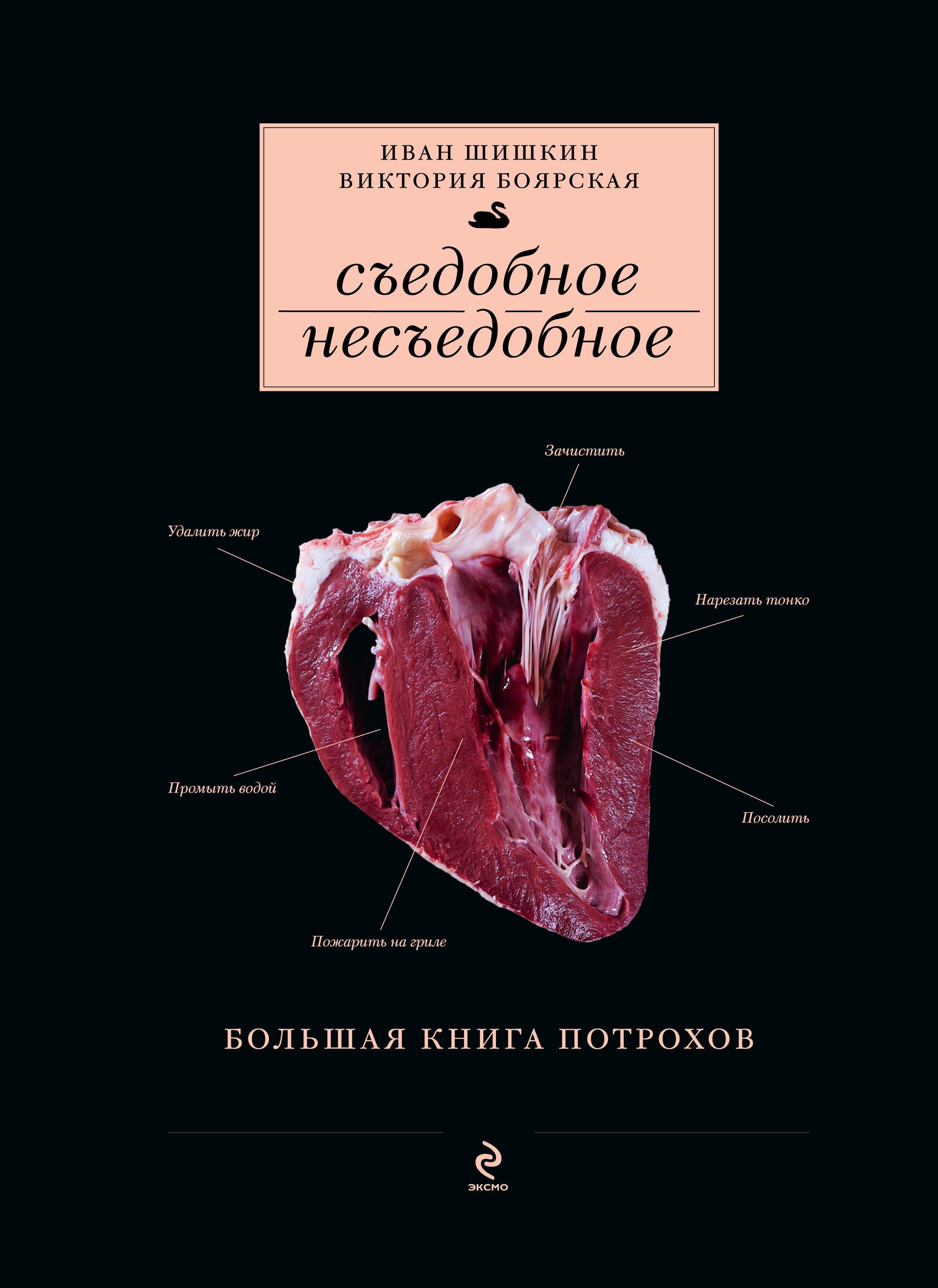 Съедобное несъедобное (Большая книга потрохов) (серия Кулинария. Авторская кухня)