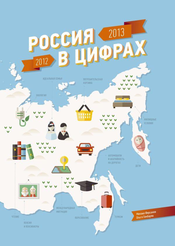 Россия в цифрах: 2012-2013 Фирсанов М.; Гамбарян О.