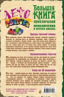 Обложка сзади Приключения и первая любовь Вера Иванова