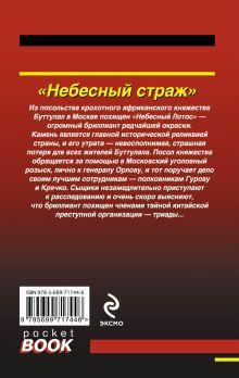 Обложка сзади Небесный страж Николай Леонов, Алексей Макеев