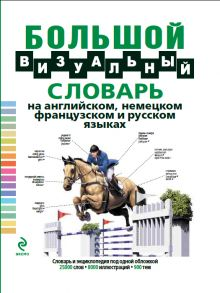 Большой визуальный словарь на английском, немецком, французском и русском языках