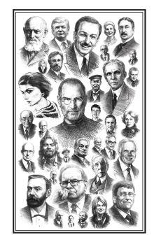 - Блокнот. Бизнесмены, изменившие мир (лица) обложка книги