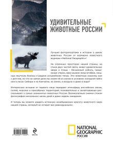 Обложка сзади Удивительные животные России