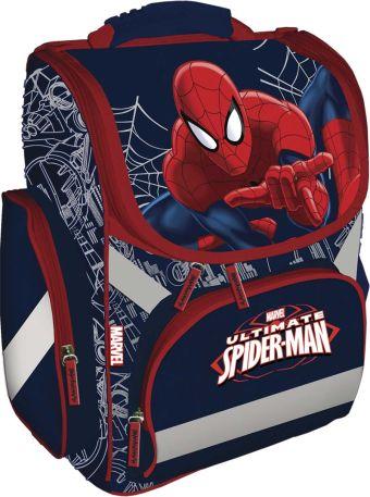 Рюкзак, спинка - толстый поролон, усиление пластиком, жесткие боковые стороны. Размер33 х 25 х 13 см, упак. 4шт. Spider-man