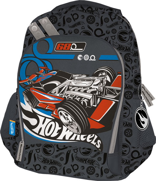 Рюкзак, мягкая спинка с вентиляционной сеткой 40х30х13 см Hot Wheels