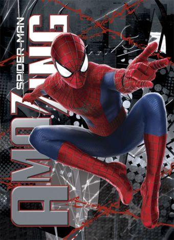 Записная книжка 32л скр А6 кл SM2A9-EAC твин УФ Spider-man Amaizing 2