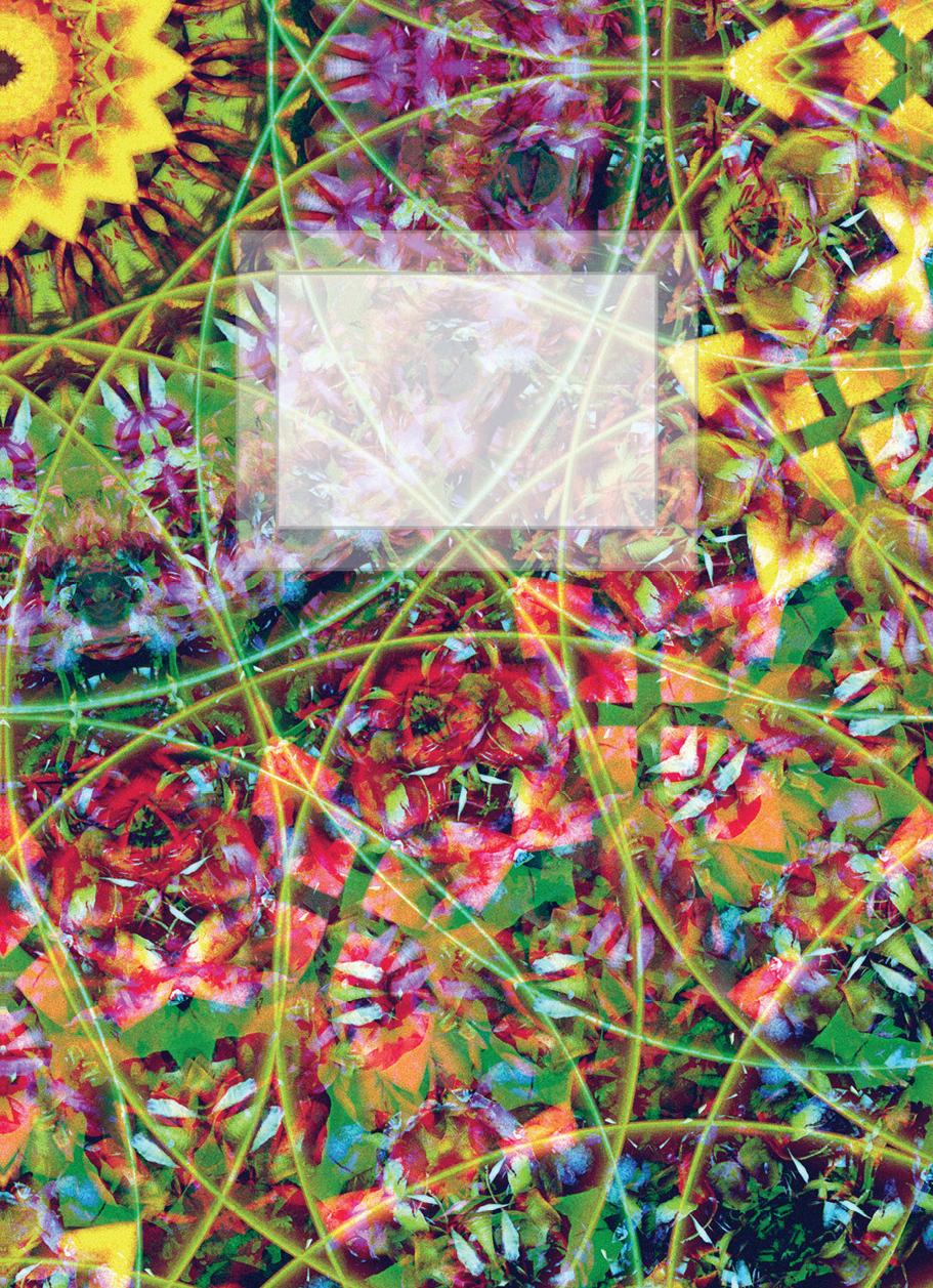 Блокнот для записей Цветы жизни А6