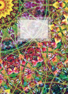 - Блокнот для записей Цветы жизни А6 обложка книги