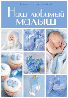 - Наш любимый малыш. Блокнот для записей (оформление 3- голубые квадраты) обложка книги