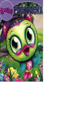 Zoobles - Зублс. РК № 14073. Волшебная раскраска. обложка книги