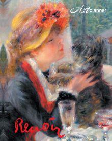 - Ренуар. Art Planner 1. Девушка с собачкой обложка книги