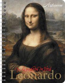 - Леонардо. Art Planner. Мона Лиза обложка книги