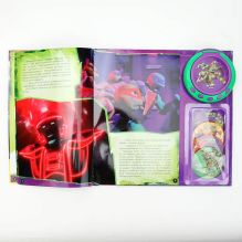 - Черепашки Ниндзя. 4 Геройские истории. (Книга со съемным Cd-плеером). обложка книги