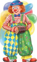 Смешной клоун