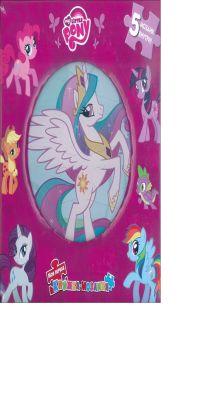 Hasbro, Мой маленький пони - Мой маленький пони. Моя первая книжка-мозаика. обложка книги