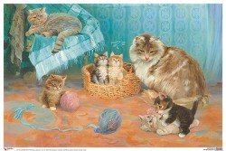 ПЛ Кошка с котятами