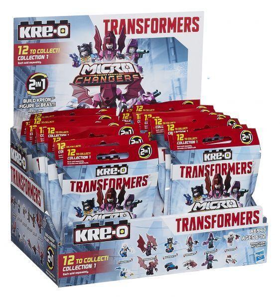 Kre-O Трансформеры 4 Мини-фигурки КРЕОНов Микроченджеров (в ассорт.) (A6947)