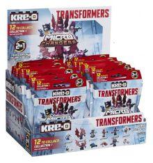 - Kre-O Трансформеры 4 Мини-фигурки КРЕОНов Микроченджеров (в ассорт.) (A6947) обложка книги