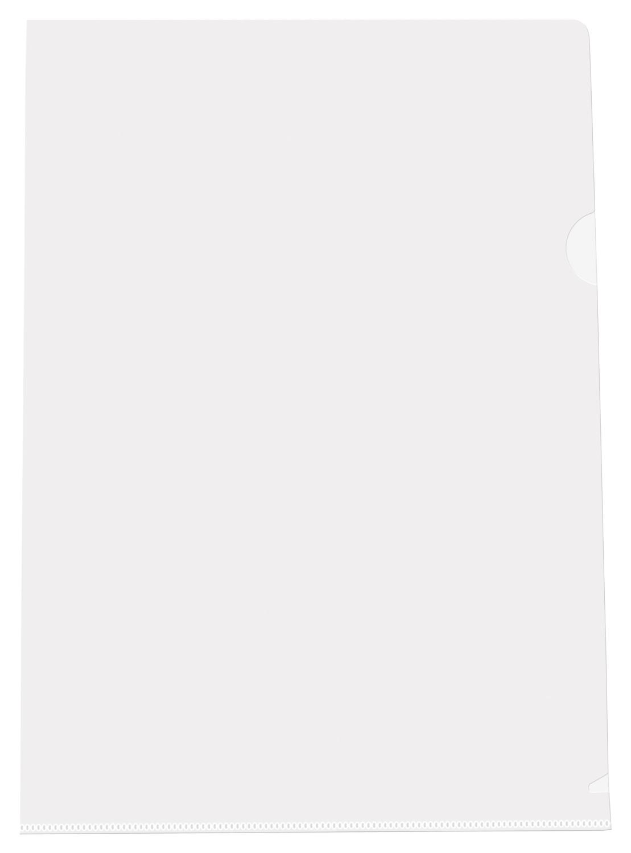 Папка-уголок (А4) 100шт. Semi-Clear Extra Light L-FILE (Прозрачный)