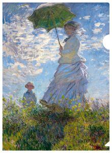 - Моне (девушка с зонтиком) обложка книги