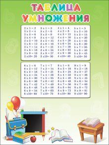 - Таблица умножения (школьная доска) (плакат) обложка книги