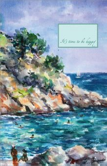 - Блокнот. Каталонское побережье обложка книги