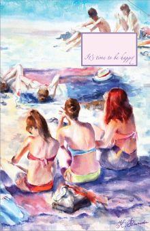 - Блокнот. Француженки на пляже обложка книги