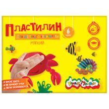 - Пластилин Каляка-Маляка для детского творчества 6 цв. 90,00 г стек обложка книги
